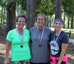 Our Top 3 Women. Thanks for your support ladies!
